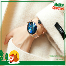 лучшая цена 2019 new fashion womenundefineds watch stainless steel with quartz womenundefineds watch leisure fangundefinedshui womenundefine