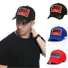 DSQ Brand Baseball Caps DSQ Logo Hat Black Cap Dad Hats Solid Pattern Hats Letters DSQ2 Casquette Hop Baseball Cap Snapback Cap
