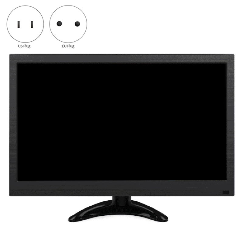 13.3-Inch Portable Monitor IPS Screen 1080P@60HZ with Speaker Lcd Display Screen HDMI VGA Computer Monitor