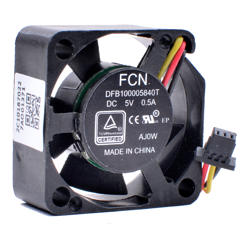 New for FCN BRUSHLESS MOTOR FH19 DV 5V 0.4A DFS470805CL0T gpu cooling fan