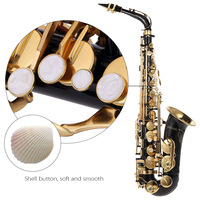 bE Alto Saxphone Brass Lacquered Gold E Flat Sax 82Z Key Type Woodwind Instrument