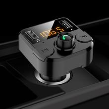 Bluetooth 5.0 FM Transmitter Car MP3 Players With Dual USB 3