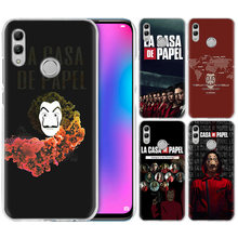 La Casa de Papel TV Hot Case for Huawei Honor 9X 8X Y9 20 9 10 Lite Jogar 8C 8A pro V20 20i Y6 Y7 2019 Coque Rígido Tampa Do Telefone(China)