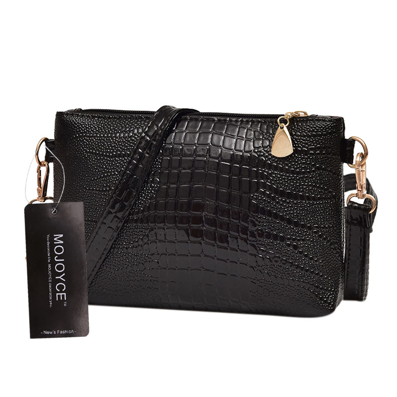 Luxury Brand Women Messenger Bag PU Leather Shoulder Bag Fashion Messenger Bags Women Mini Handbag Small Zipper Envelope Clutch