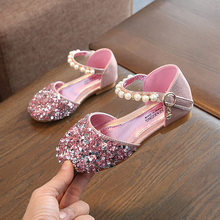 2020 New Baby Girl Shoes Patent Pu Leather With Bow-knot Kids Single Shoes Children Princess Girls Loafers Sneakers Bow-tie Soft(China)