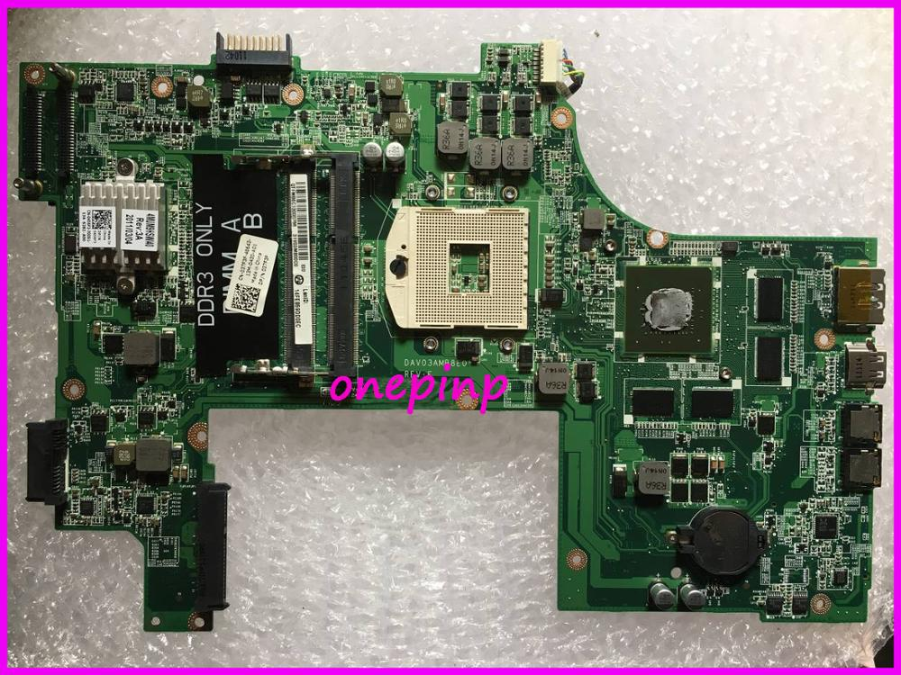 037F3F Fit For DELL N7110 Laptop Motherboard GT525M 1GB DAV03AMB8E0 Tesed DDR3