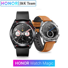 Huawei Honor Watch Magic Smart Watch GPS 5ATM WaterProof Heart Rate Tracker Sleep Tracker Working 7 Days Message Reminder(China)