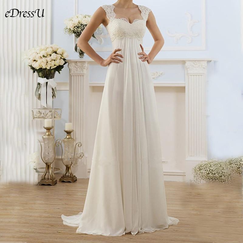 Pure White Wedding Dress Elegant Lace Plus Size Dress Backless Maxi Wedding Gown Sexy Vestido De Novia YSM-5183
