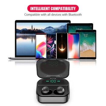 New X7 TWS Bluetooth Earphones Wireless for Galaxy A90 5G Galaxy Note10 Galaxy S10 Samsung Galaxy M30s Galaxy Note9 Galaxy фото