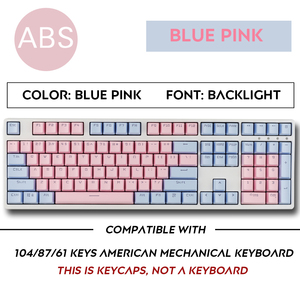 Image 4 - Top Printed Cherry/SKY Theme  104 Key Keycaps Keys Caps Set for Mechanical Keyboard for Gaming Mechanical Keyboard MX keycaps