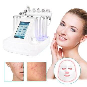 7 In 1 Hydra Dermabrasion Peel Clean Skin Tight Care BIO Light RF Vacuum Face Skin Cleaning Hydro Water Oxygen Jet Peel Machine