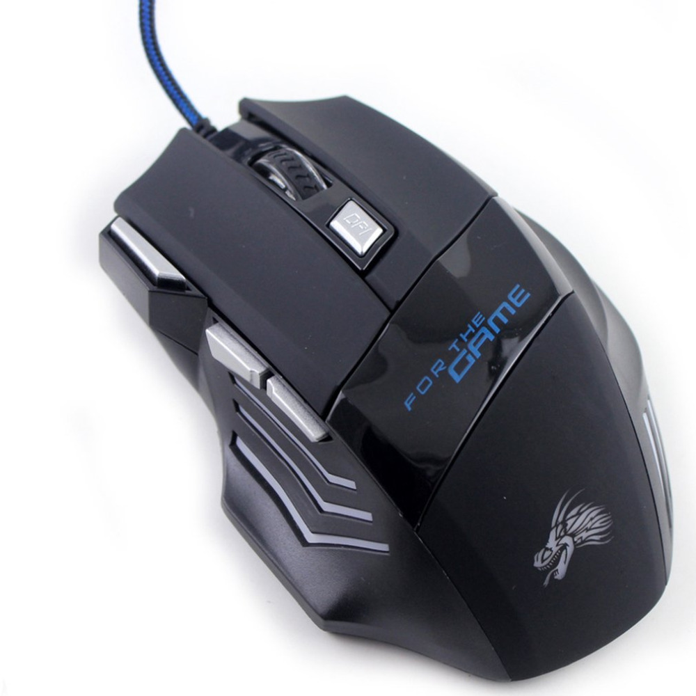 5000DPI 6 Buttons Mice Gamer Mouse Gaming Mouse Game Mice USB Receiver  Optical Mouse For PC Laptop Gamer Dropshipping