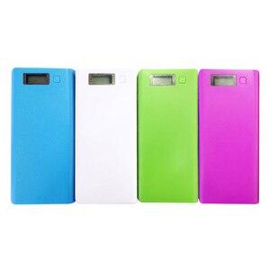 Image 5 - Двойной USB 8*18650 Держатель батареи блок питания батарея коробка мобильный телефон зарядное устройство DIY корпус с количеством дисплея для Xiaomi