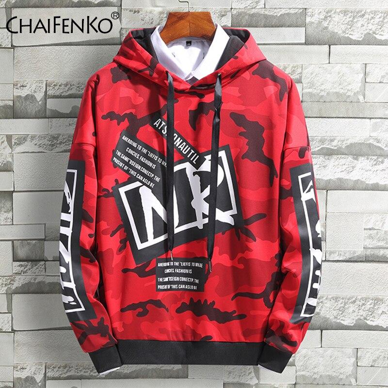 Camouflage Men Hoodies Hip Hop Streetwear Print Sweatshirts Men Skateboard Men/Woman Pullover Hoodies Male Hooded Sweatshirts