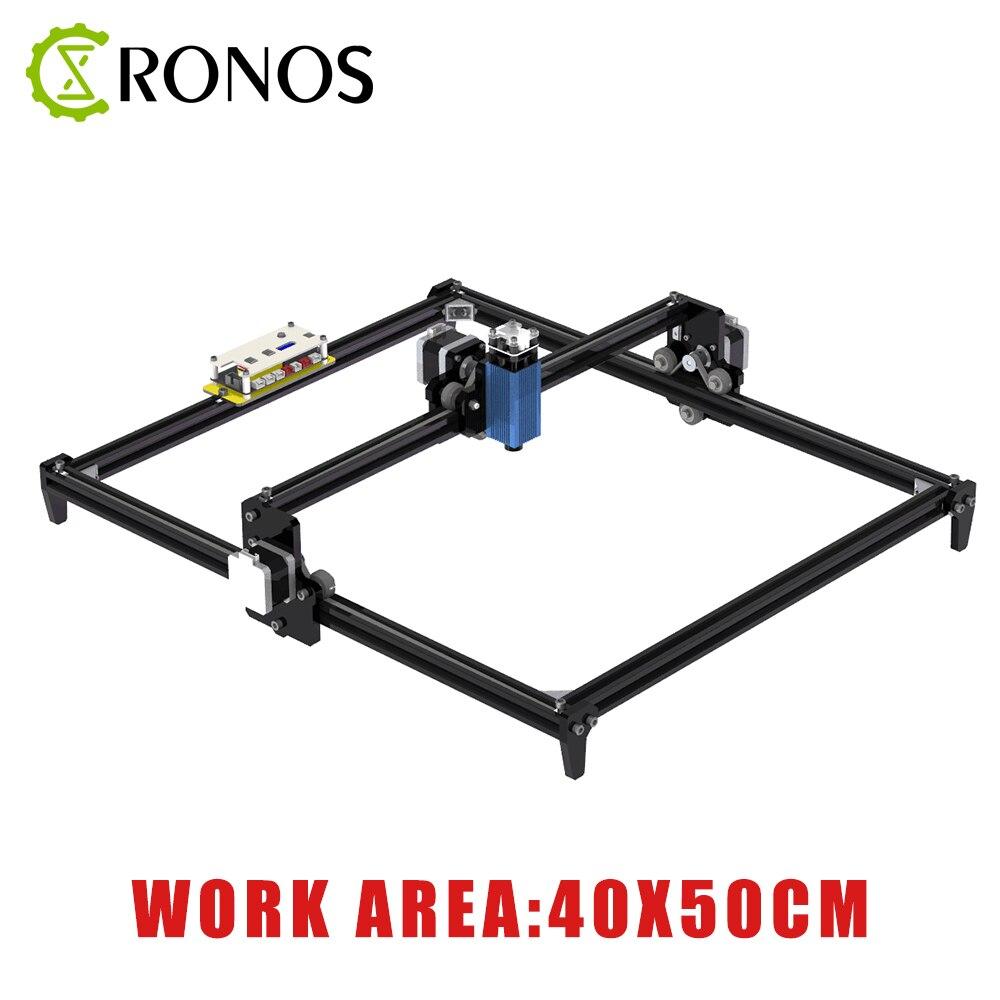 40*50cm Mini 2.5W CNC Machine de gravure Laser 2 axes bricolage 2500MW graveur bureau bois routeur/Cutter/imprimante + lunettes Laser