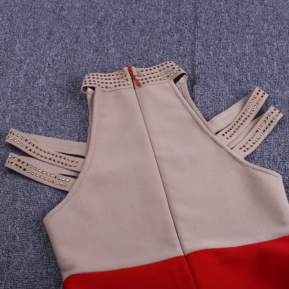Bandage Rayon Black Beaded 9