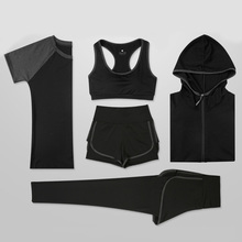 Female Sport Suit Women Fitness Clothing Set Yoga Wear Gym Jogging Suits Sportswear Running Leggings