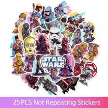 50 Stks/set Star Wars Anime Cartoon Auto Motorfiets Telefoon Reisbagage Trolley Laptop Computer Stickers Speelgoed Geschenken