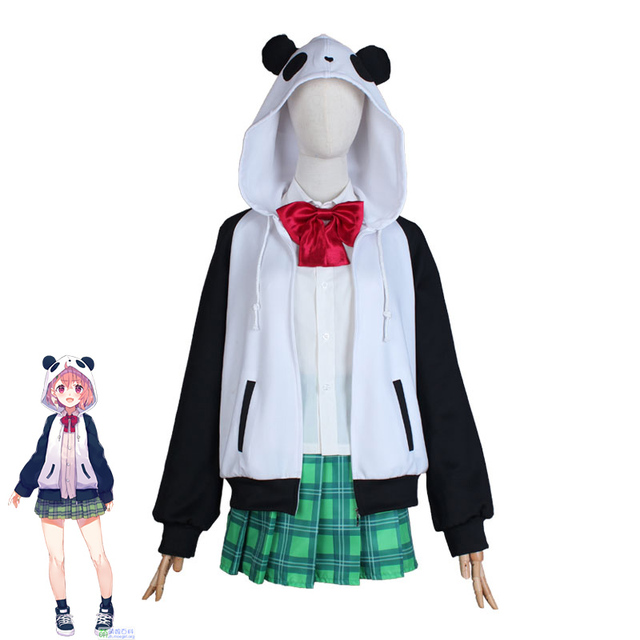 Hololive VTuber GAMERS YouTuber Sasaki Saku Cosplay Costumes Women Casual Outfits Top Skirts Coat Halloween Uniforms Custom Made 1