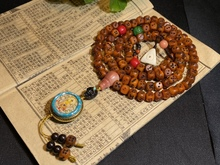 Оптовая продажа, тибетский Леопардовый кубик с бусинами, цепочка, ожерелье, свитер, ручная роспись, мужские и женские ювелирные изделия