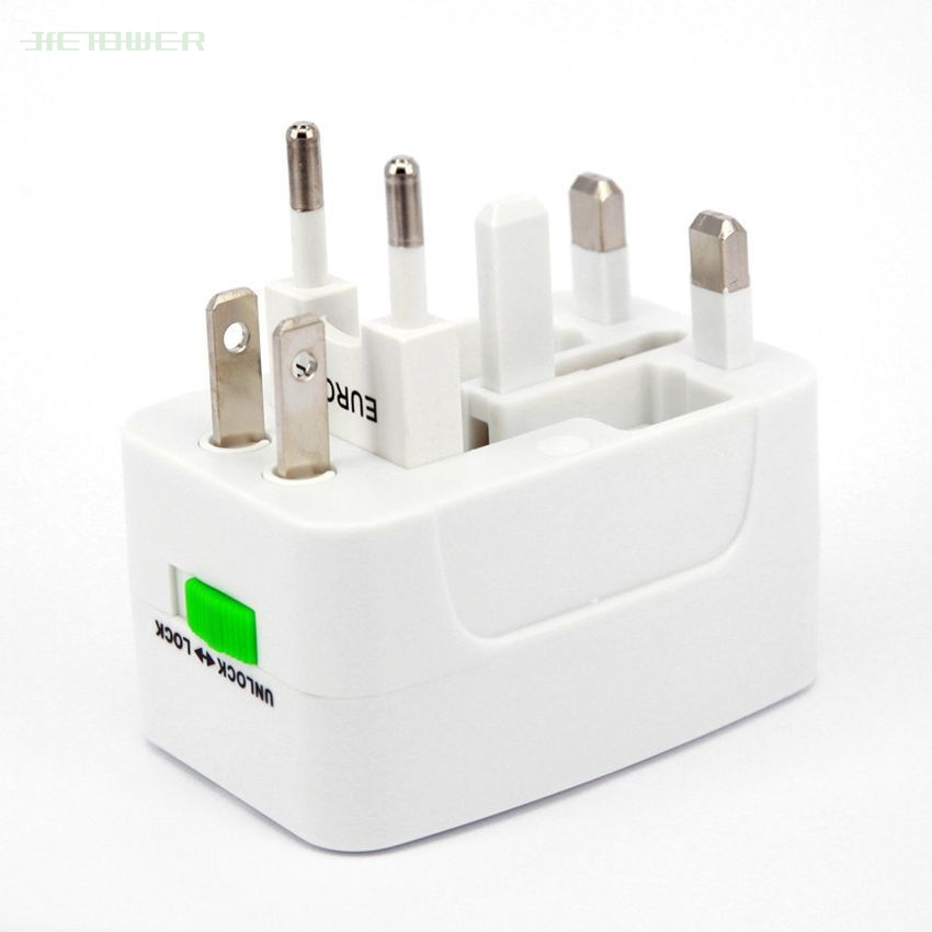 Power-Socket-Adapter Electric-Plug International Universal Travel 300sets/Lot UK EU US