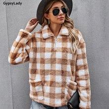 Gypsylady винтажная клетчатая блузка с цветными блоками рубашка
