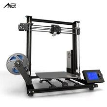 Nuovo Anet A8 plus Aggiornamento 3D Kit Stampante Più Il Formato 300*300*350 millimetri di Alta Precisione In Metallo Desktop 3D FAI DA TE Stampante Impresora 3D