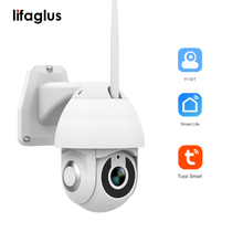 G1 Camera Wifi Outdoor Speed Dome Wireless Wifi Security Camera Pan Tilt  1080P HD PTZ Two Way Voice Intercom Cloud Storage