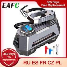 Pompe à air numérique avec lampe torche d'urgence, manomètre électrique, compresseur, pour voiture, portable, 150 psi, 12V DC