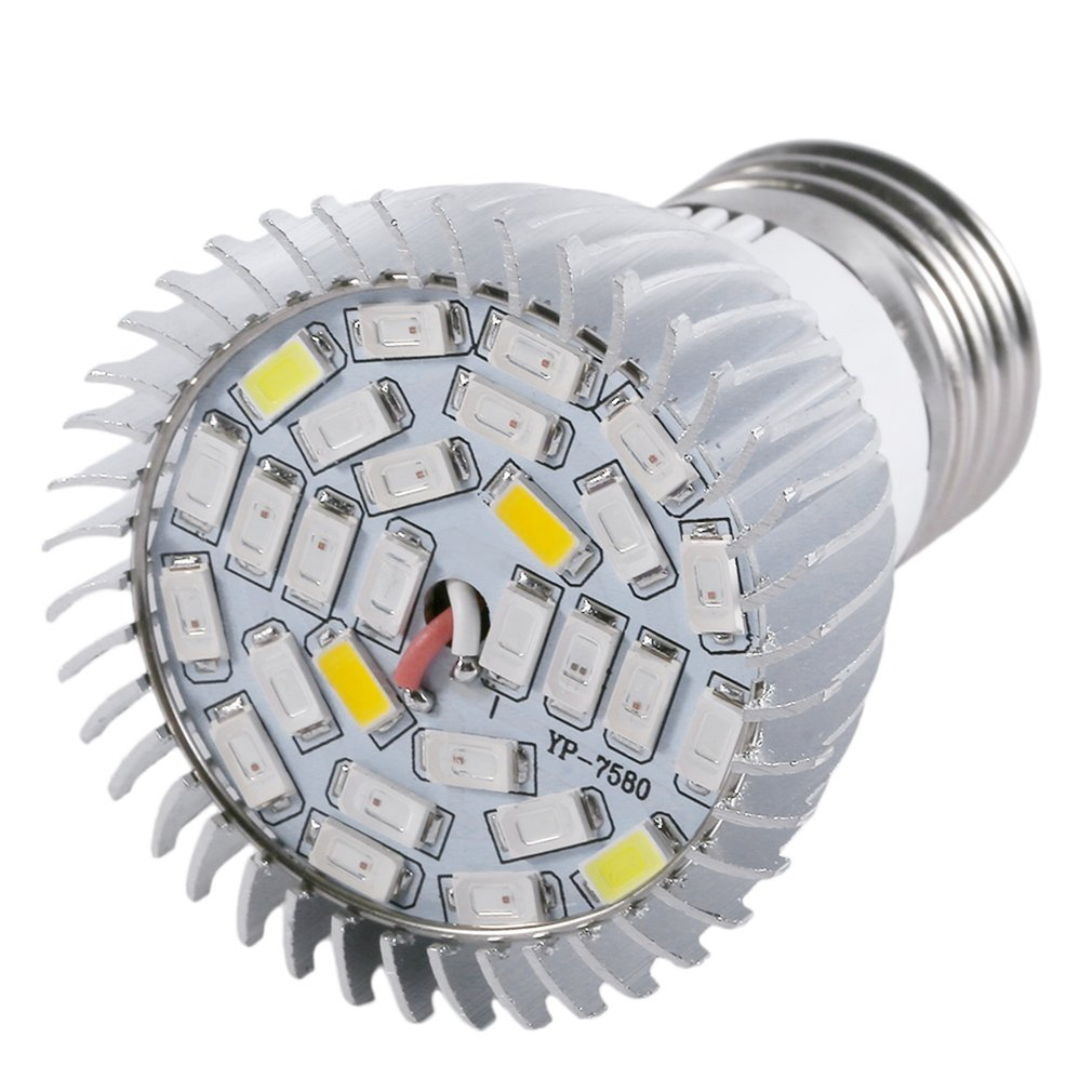 Professional 28W/18W Full Spectrum E27 LED Grow Light Growing Lamp Light Bulb Suitable For Flower Plant