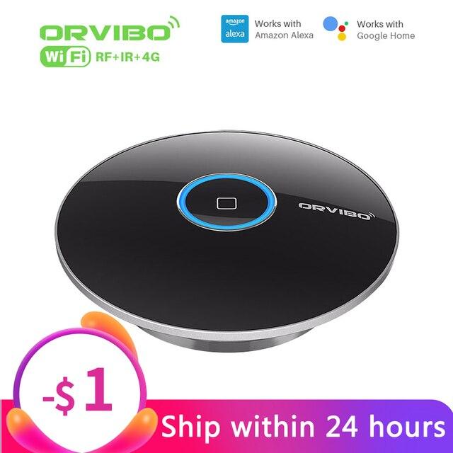 Orvibo mando a distancia inteligente Allone Pro, control Universal, IR, 433MHz, conectado, funciona con Amazon Echo, Alexa, para Smart Home utomation