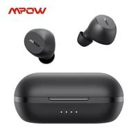 Mpow M12 TWS True Wireless Earbuds iPX8 impermeabile 25h Playtime USB C ricarica auricolari Bluetooth per iPhone 11 X Xiaomi Huawei