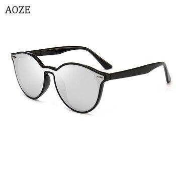 Gafas de sol de Ojos de gato para hombre de tendencia pequeña 2020, gafas de moda femenina negras vintage de 70 s, tonos masculinos
