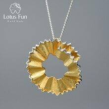Lotus Plezier Echte 925 Sterling Zilveren Handgemaakte Fijne Sieraden Creatieve Potloodspaanders Ontwerp Hanger Zonder Ketting Voor Vrouwen Gift