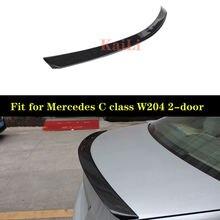 W204 спойлер заднего багажника из углеродного волокна крыла