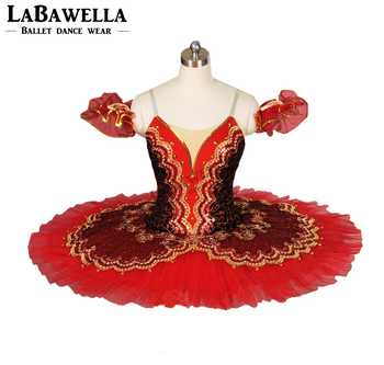 adult performance ballerina ballet costume Don Quixote women girls black red tutu competition classical professional tutuBT8941D - DISCOUNT ITEM  13% OFF All Category