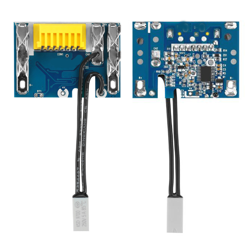 2 darab BL1830 BL1815 BL1845 BL1860 Li-ion akkumulátoros NYÁK-kártya áramköri lap Makita 18V-hez 1500mAh 3000mAh 4500mAh 6000mAh