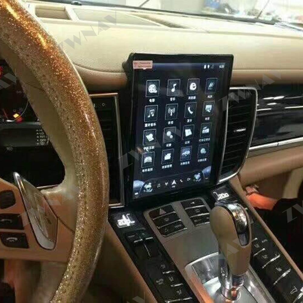 Verticl Screen Tesla Style Android 7.1 Car Multimedia Player For Porsche Panamera 2011-2016 GPS Navi Audio Radio Stereo Headunit