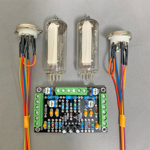 Image 5 - GHXAMP 6E2 고양이 눈 튜브 표시기 드라이버 보드 키트 듀얼 채널 형광 레벨 표시기 드라이브 증폭기 DIY 수정