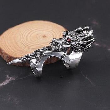 Bague armure dragon
