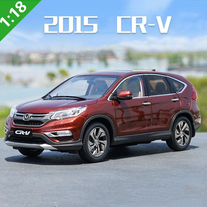 1 18 scale Original Dongfeng HONDA 2015 CRV simulation alloy car model diecast metal vehicle kids