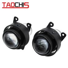 цены TAOCHIS Car Lamp HID Bi-xenon Fog Light Projector Lens Retrofit For Ford Citroen Subaru Renault Suzuki Swift PEUGEOT OPEL H11