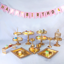 Get more info on the Tobs Wedding Cake Stand Set Mirror Crystals Decor Supplies Party Cupcake Tower Stand Dessert Display Decor Tray Metal Round