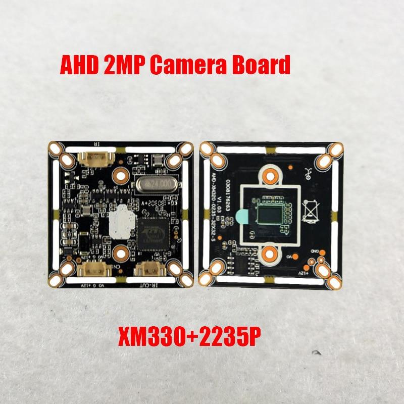 Free Shipping DIY AHD  2MP 1080P  CMOS CCTV PCB Board  Camera Module