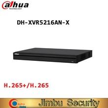 DAHUA XVR5216AN X 16 каналов Penta образный 1080P цифровой видеорегистратор умный поиск и интеллектуальная Видеосистема