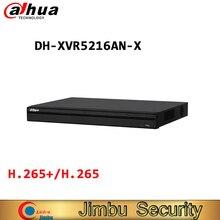 DAHUA XVR5216AN X 16 kanał penta brid 1080P cyfrowy rejestrator wideo inteligentne wyszukiwanie i inteligentny System wideo