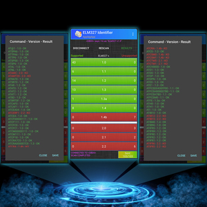 Image 2 - Сканер Viecar ELM 327 V1.5 Bluetooth 4,0 PIC18F25K80 ODB2 для Android/IOS OBD 2 Автомобильный диагностический инструмент elm327 V1.5 pk V2.1