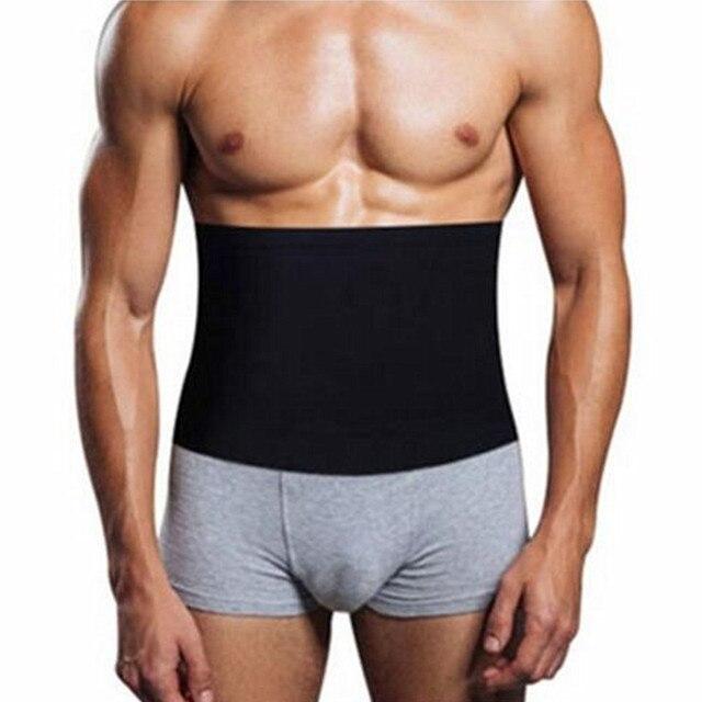 New Dropshipping Slimming Belt Belly Men Slimming pants Body Shaper Neoprene Abdomen Fat Burning Shaperwear Waist Sweat Corset 3