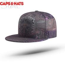 Хип хоп Snapback скейтборд Кепка s 3D печать оснастки назад панк бейсбольная шляпа бренда Gorra Hombre баскетбольная Кепка
