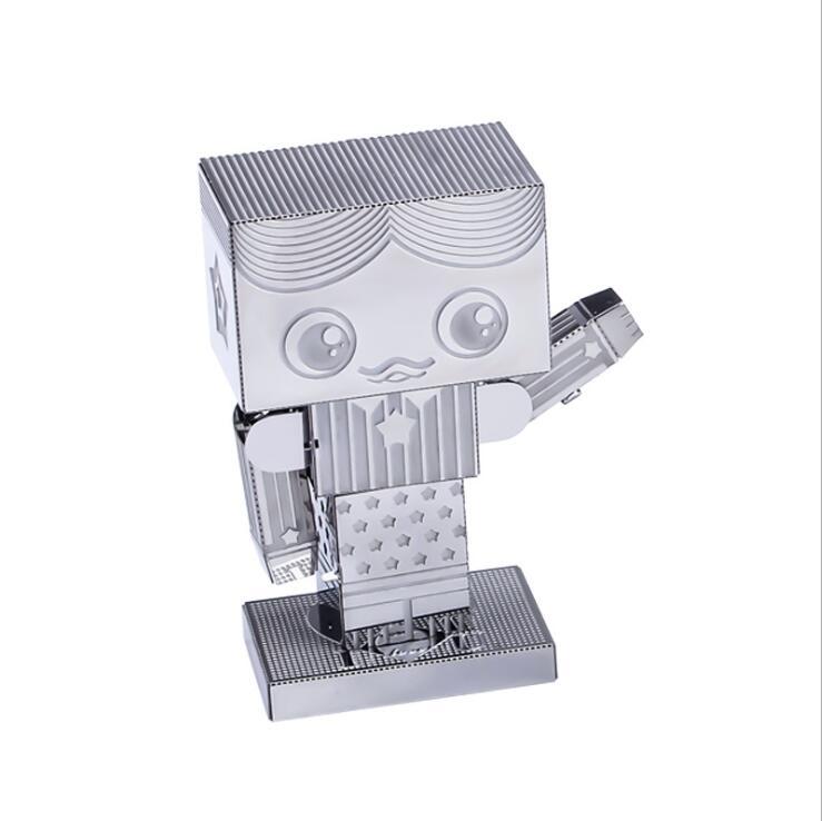 3D Metal Puzzle Model Kit DIY Stainless Steel Starship DOCTOR WHO TARDIS Animal Ship Adult Jigsaw DIY Jigsaw Manual Gift Toys 15